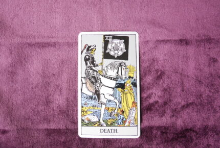 タロットカード・大アルカナ「死神」:起死回生のチャンスがやって来る